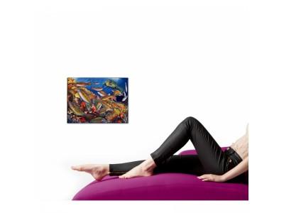 Donzelle Danzanti in mare - Quadro Moderno d'autore 30x40